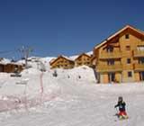 Ski au Nouvel An